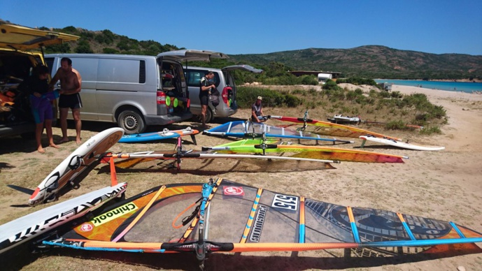 Balistra spot de windsurf en Corse