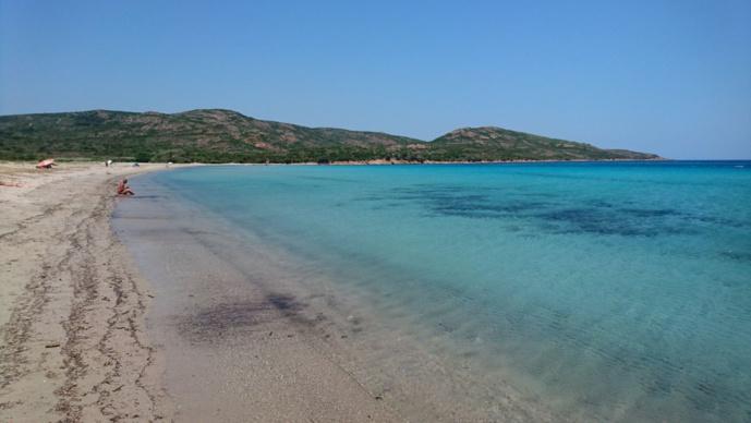La plage de Balistra