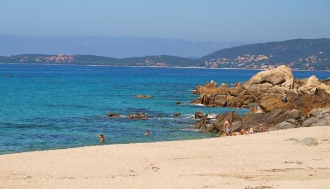 Plage d'Abbartello - Olmeto plage