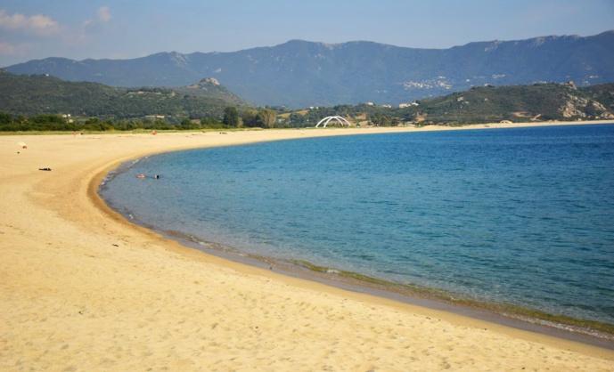 La plage du Liamone