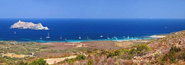 Plage de Barcaggio © Pierre Bona - Wikipédia