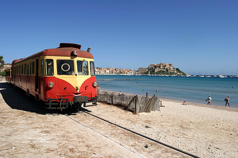 Train des plages en balagne