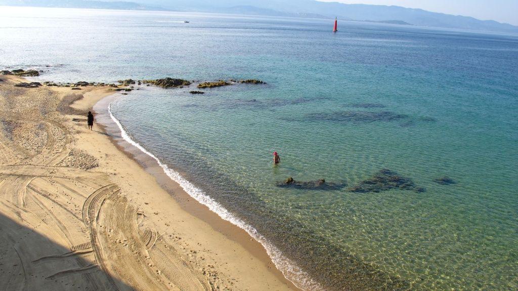 La plage de Saint François