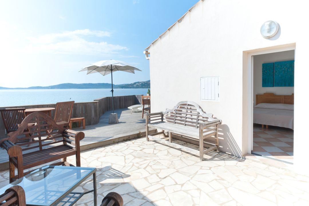 Chambre hôtel plage de Cala Rossa