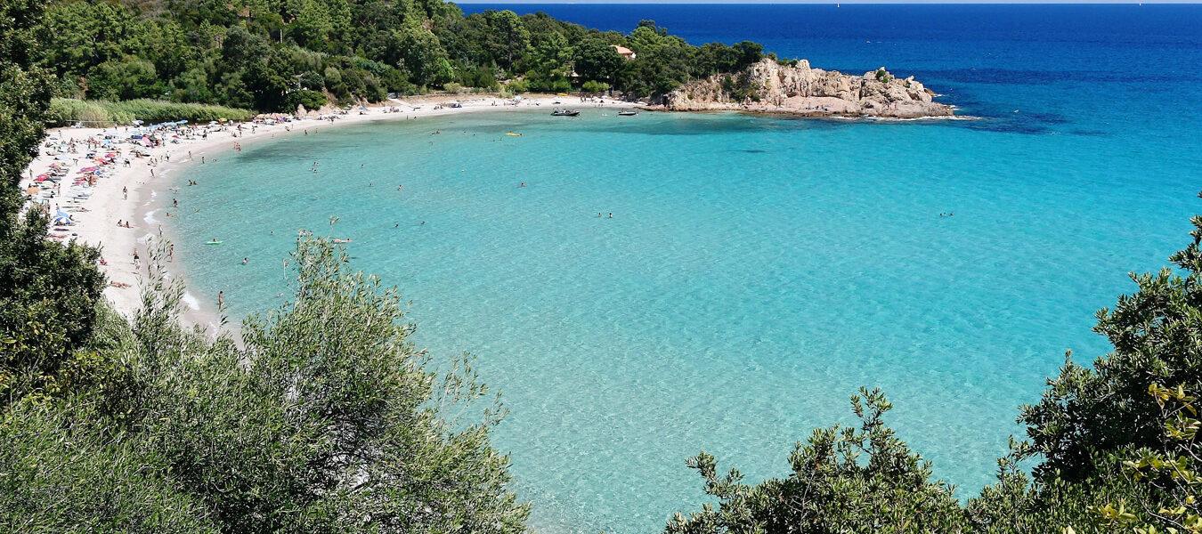 La plage de Canella - Favone
