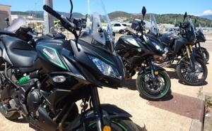 Louer une moto en Corse du Sud