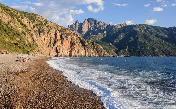 La plage de Bussaglia